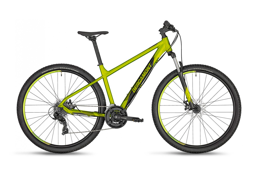 "Купить велосипед 29"" Bergamont Revox 2 (2020) atlantic lime Xl"
