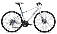 "Велосипед 28"" Marin TERRA LINDA 2 рама - XS 2020 Gloss WhiteAsh BlueDeep Blue"